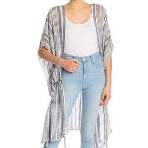 Melrose and Market striped duster cardigan boho